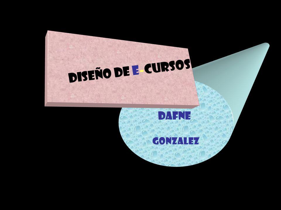 Diseño de E-cursos Dafne Gonzalez