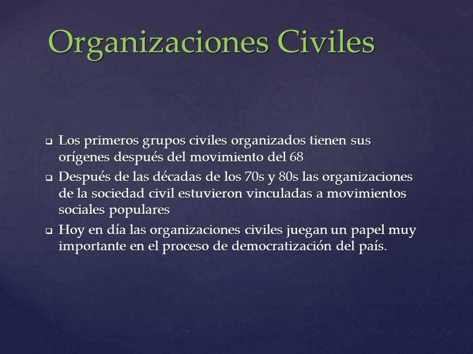 Organizaciones Civiles