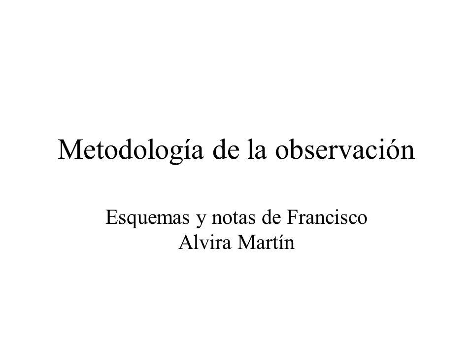 Metodología de la observación