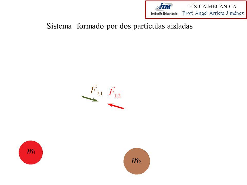 Sistema formado por dos partículas aisladas