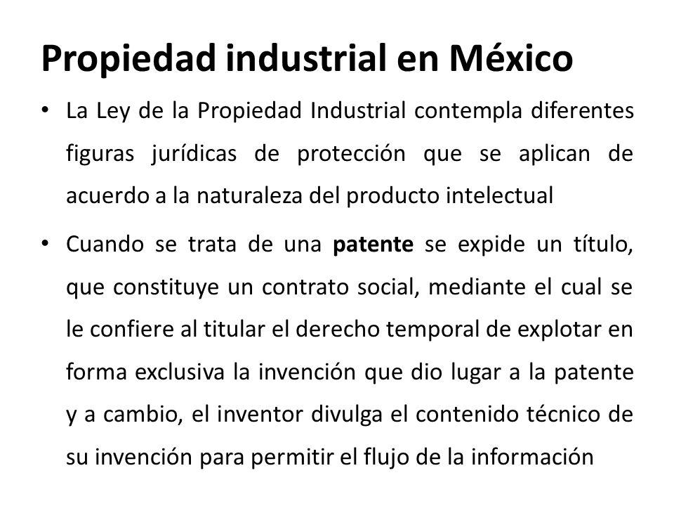 Propiedad industrial en México