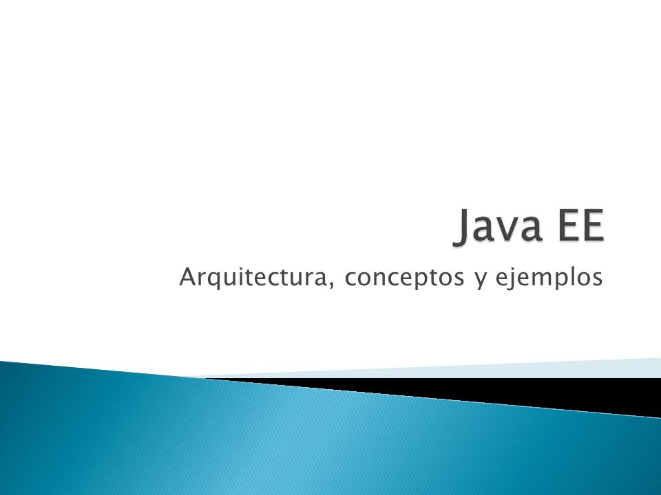 Arquitectura, conceptos y ejemplos