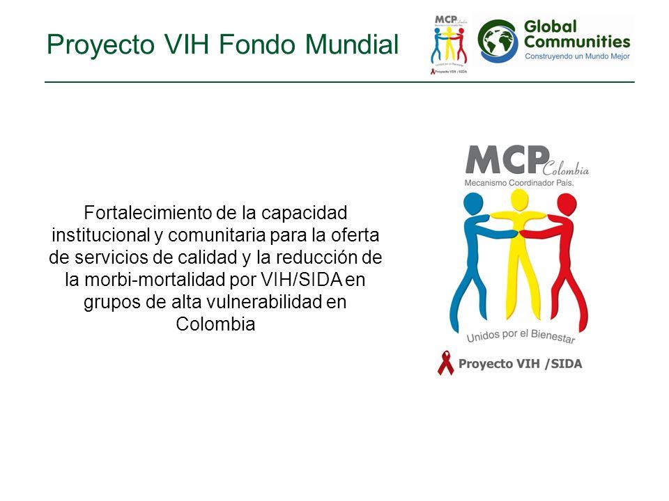 Proyecto VIH Fondo Mundial
