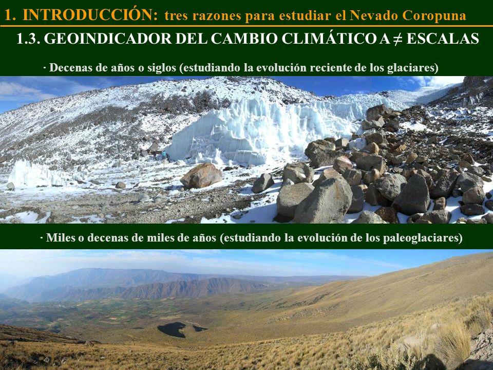 INTRODUCCIÓN: tres razones para estudiar el Nevado Coropuna