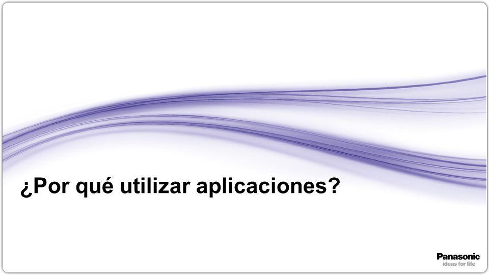 ¿Por qué utilizar aplicaciones