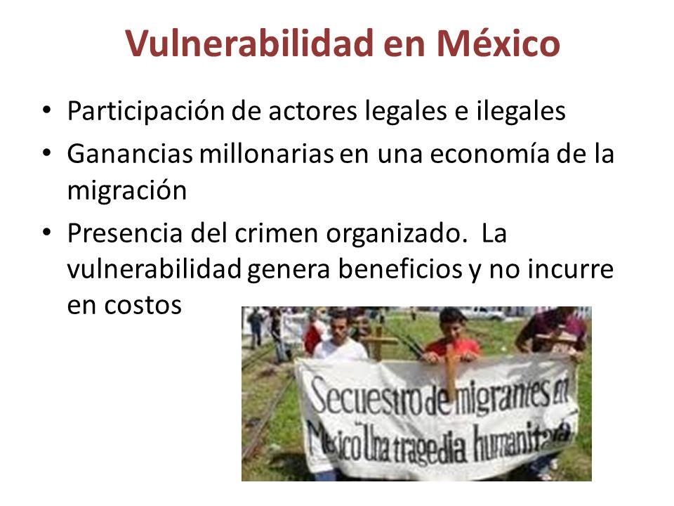 Vulnerabilidad en México