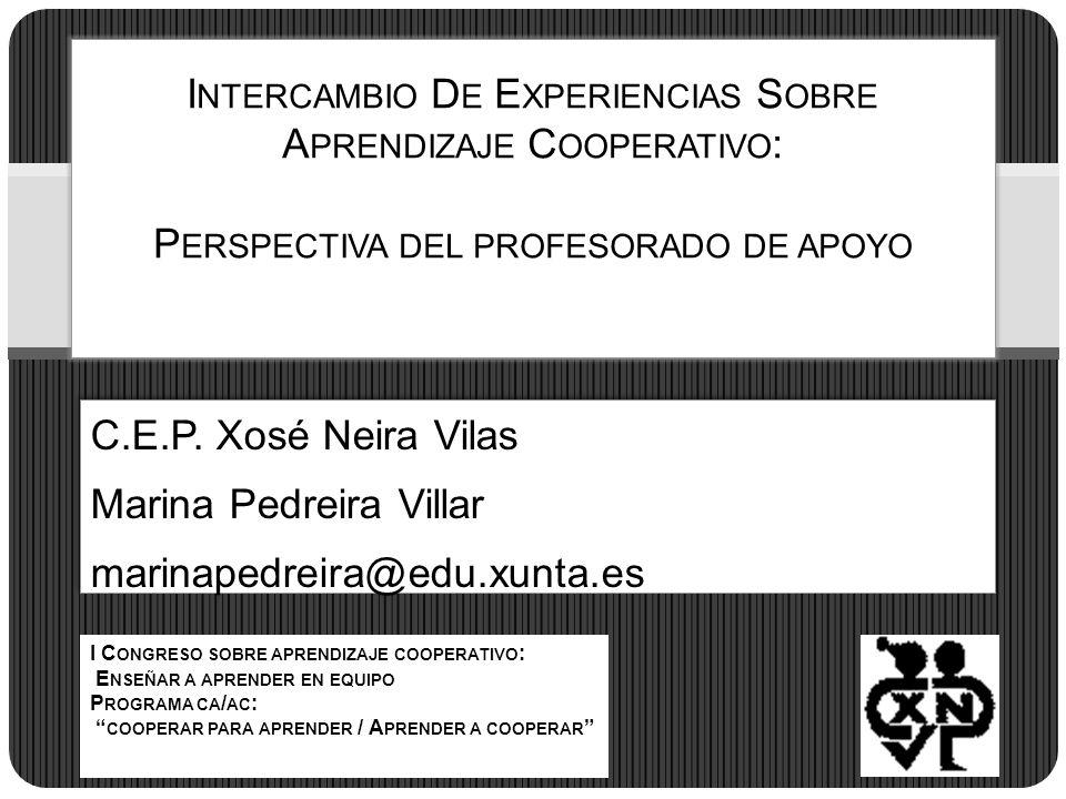 Marina Pedreira Villar marinapedreira@edu.xunta.es