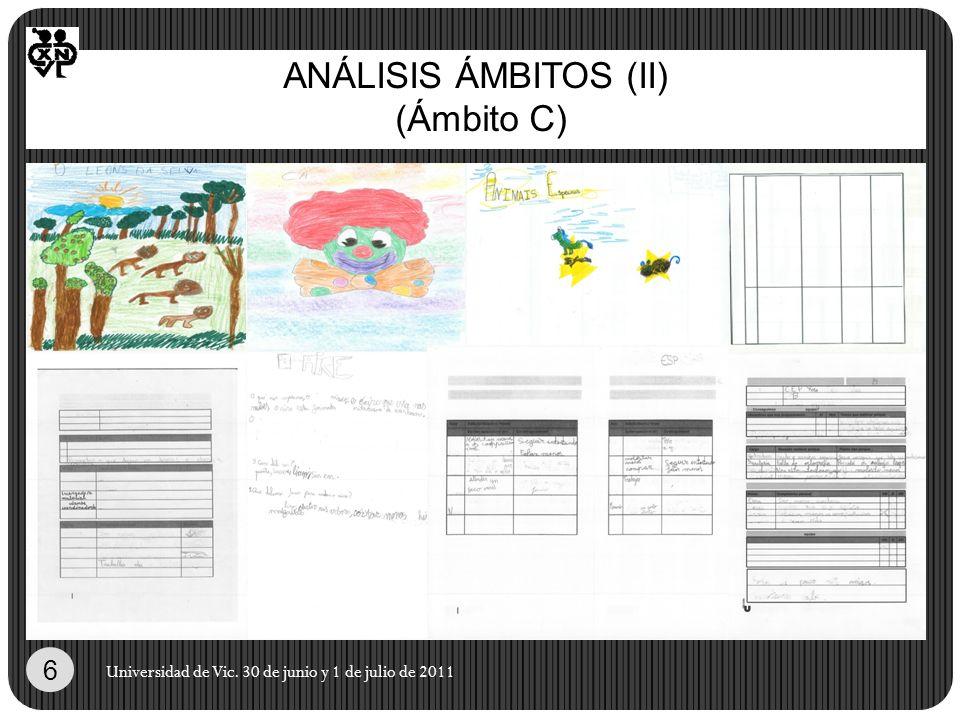 ANÁLISIS ÁMBITOS (II) (Ámbito C)
