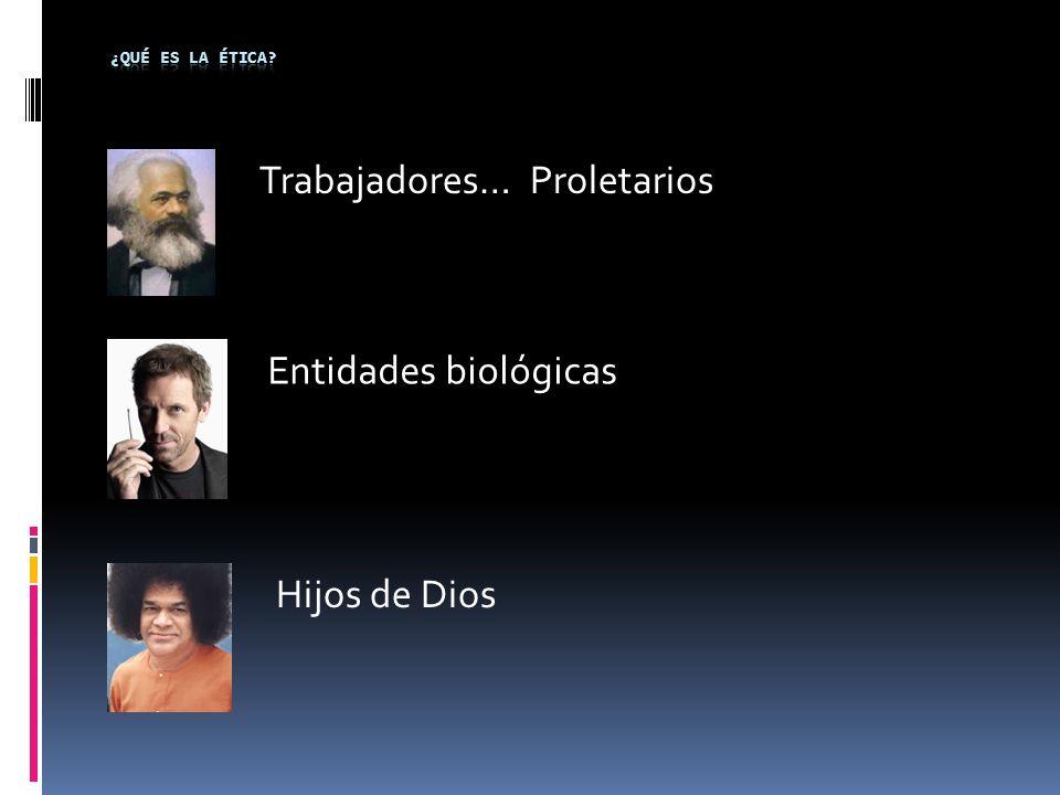 Trabajadores… Proletarios