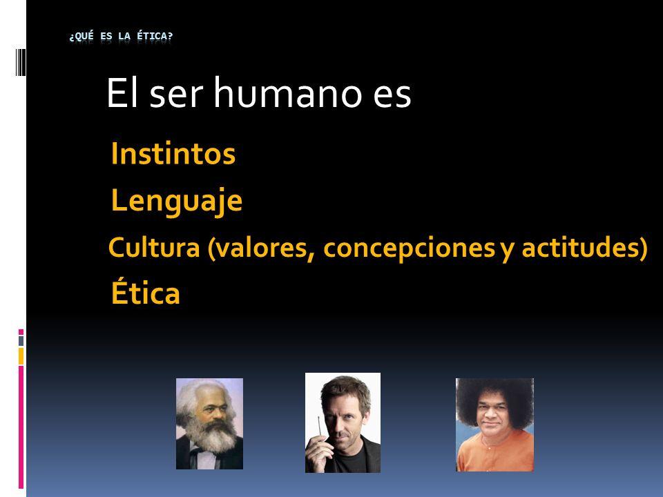 Cultura (valores, concepciones y actitudes)