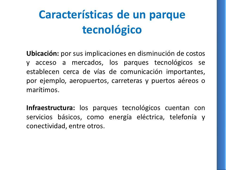 Características de un parque tecnológico