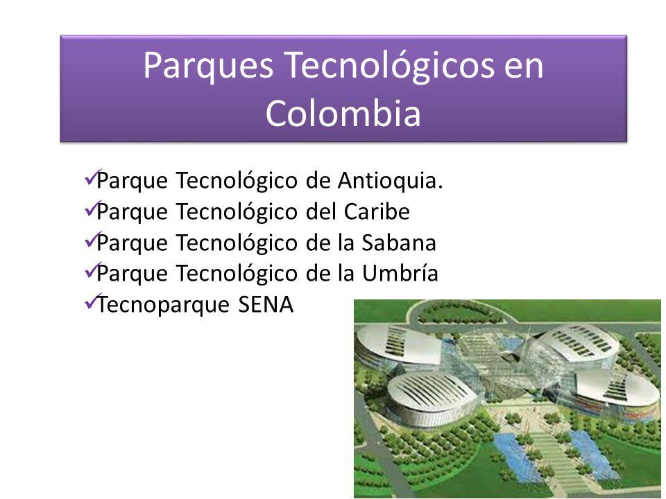 Parques Tecnológicos en Colombia