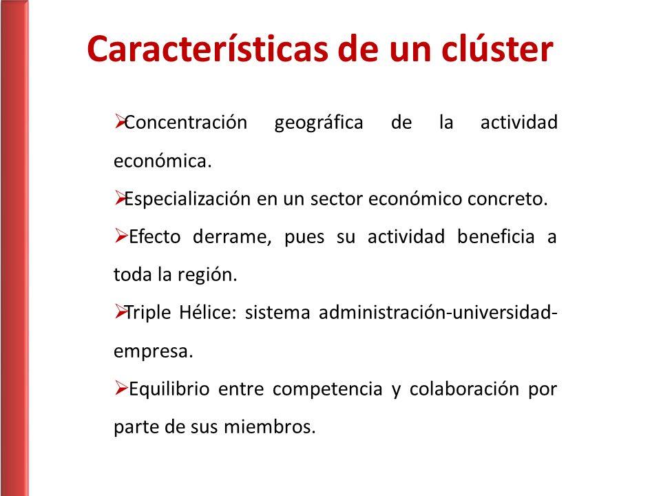 Características de un clúster