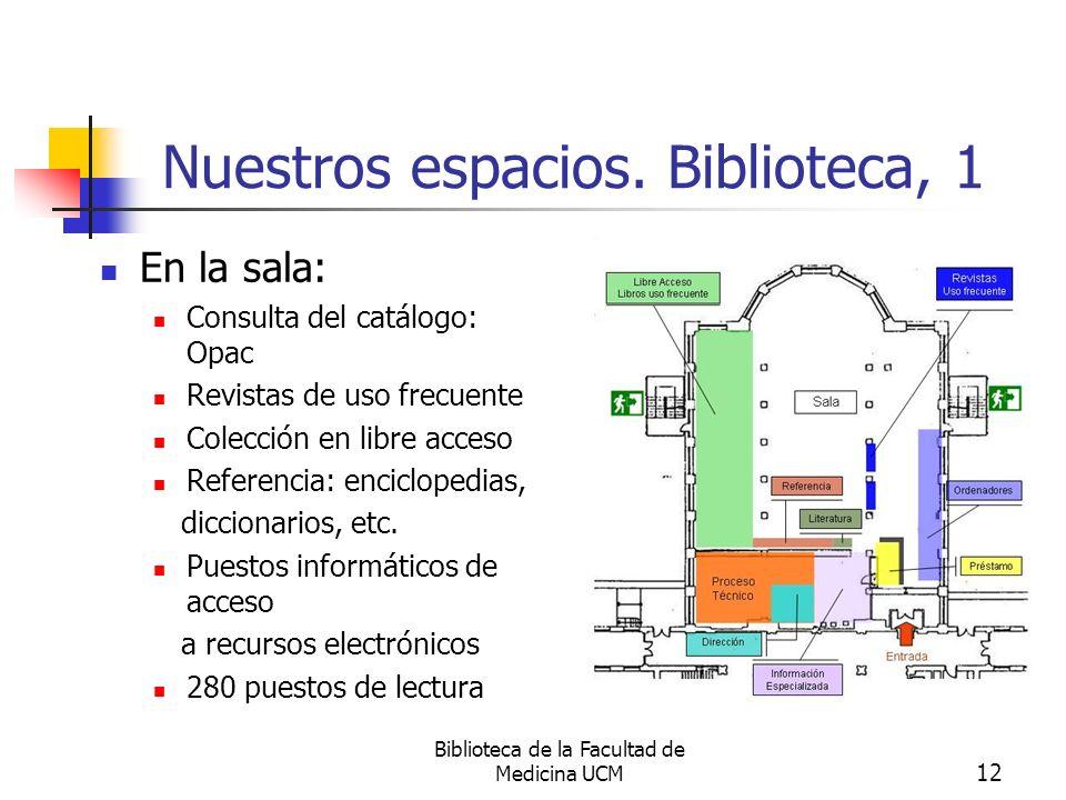 Nuestros espacios. Biblioteca, 1