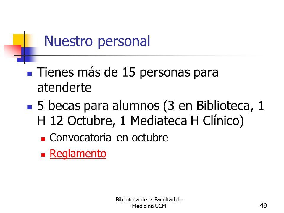 Biblioteca de la Facultad de Medicina UCM