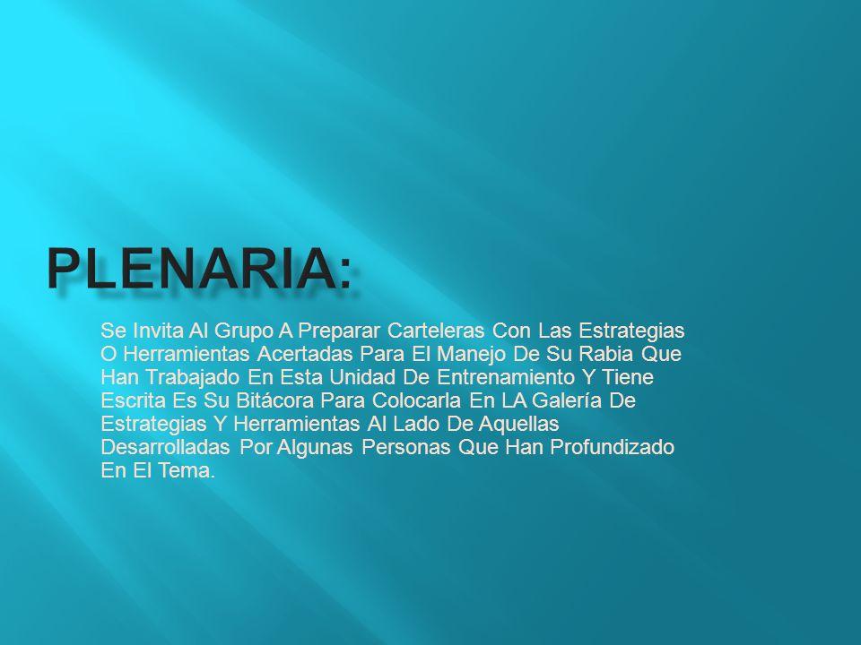 Plenaria: