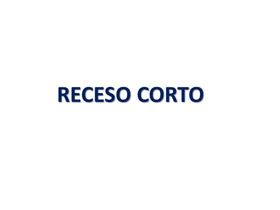 RECESO CORTO