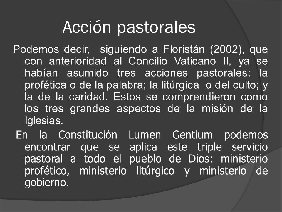 Acción pastorales