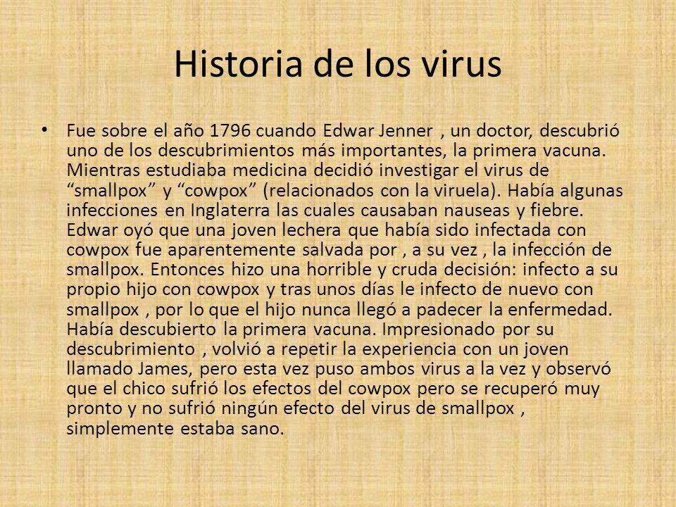 Historia de los virus