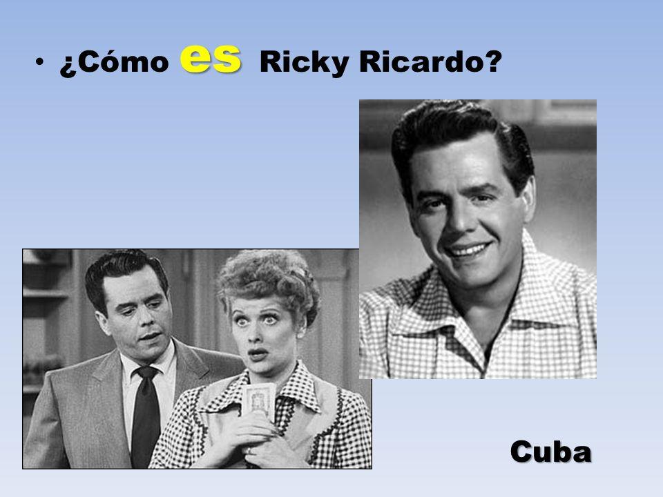 ¿Cómo es Ricky Ricardo Cuba