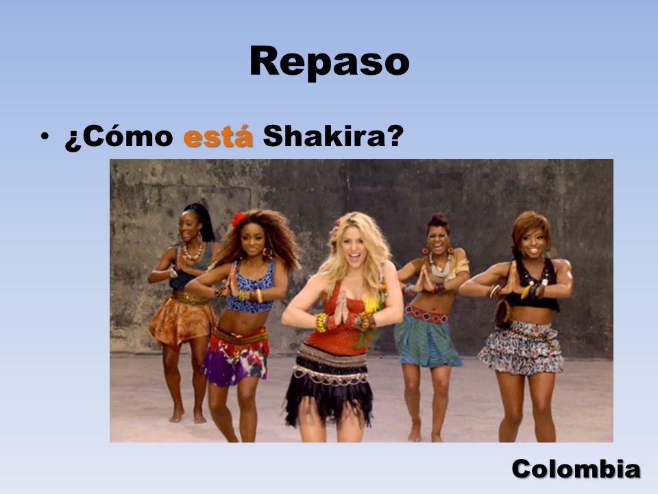Repaso ¿Cómo está Shakira Colombia