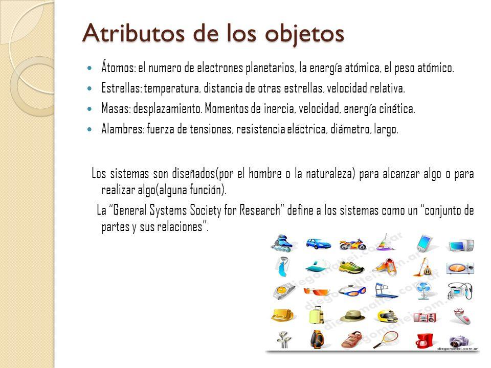 Atributos de los objetos