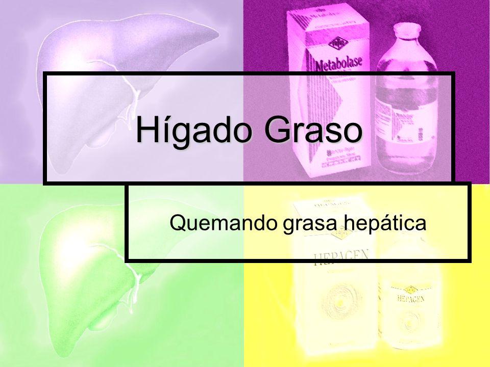 Quemando grasa hepática