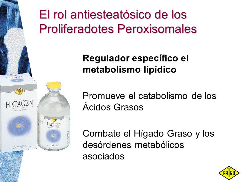 El rol antiesteatósico de los Proliferadotes Peroxisomales