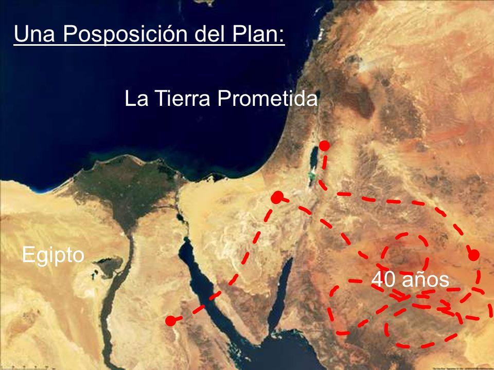 Una Posposición del Plan: