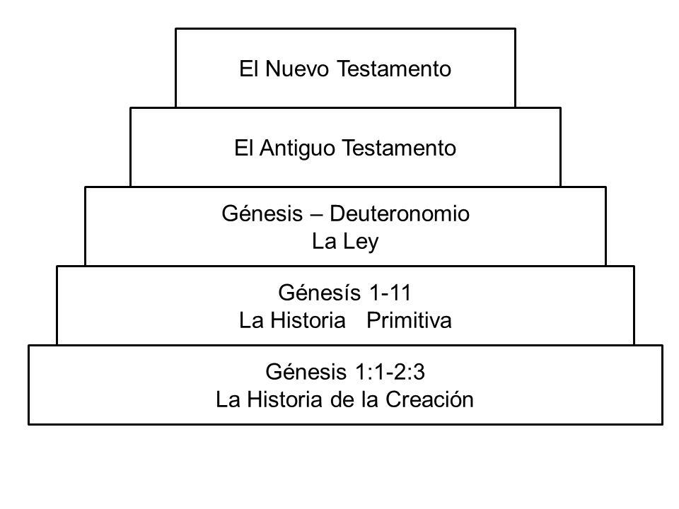 Génesis – Deuteronomio La Ley