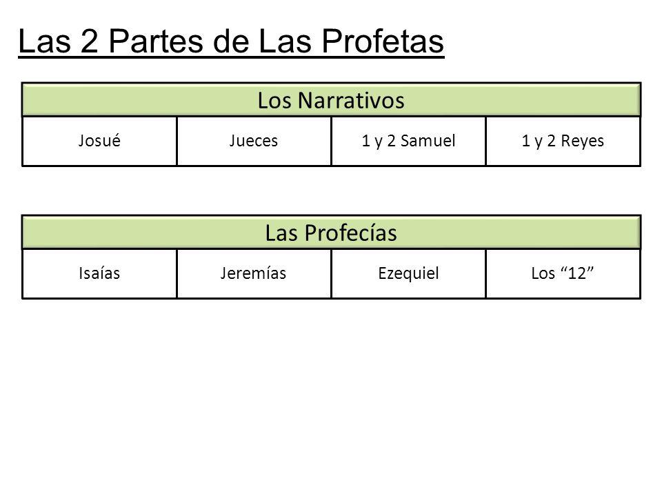 Las 2 Partes de Las Profetas