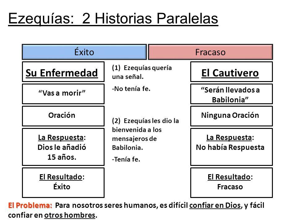 Ezequías: 2 Historias Paralelas