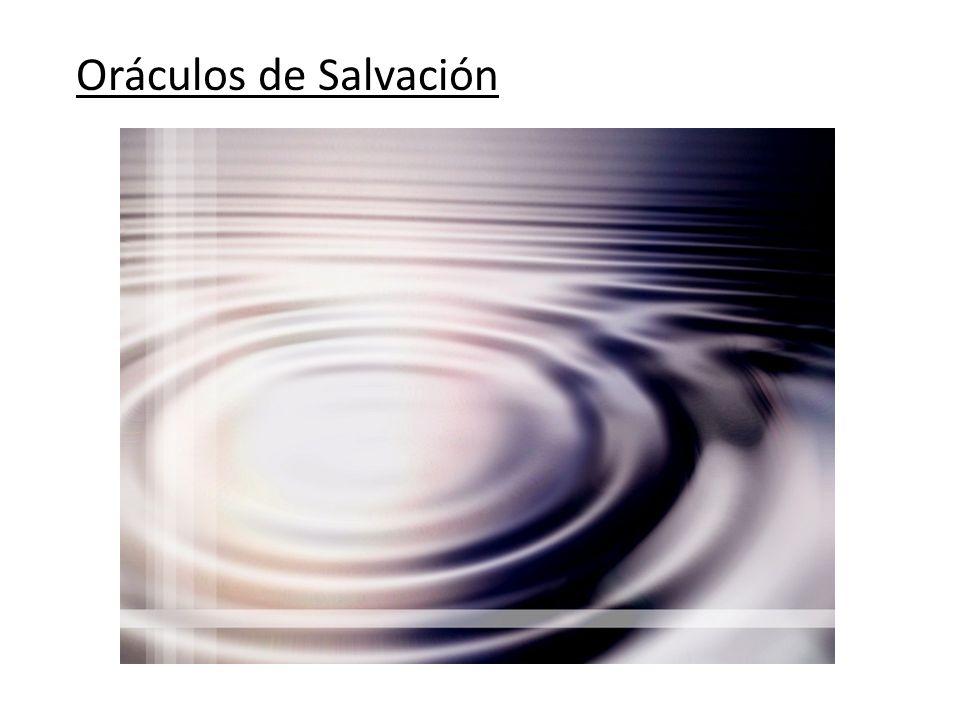 Oráculos de Salvación