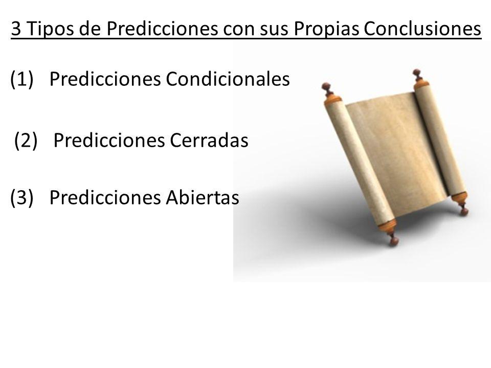 3 Tipos de Predicciones con sus Propias Conclusiones