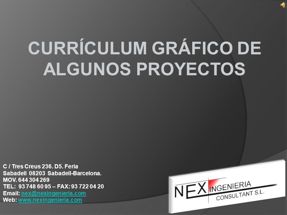 CURRÍCULUM GRÁFICO DE ALGUNOS PROYECTOS