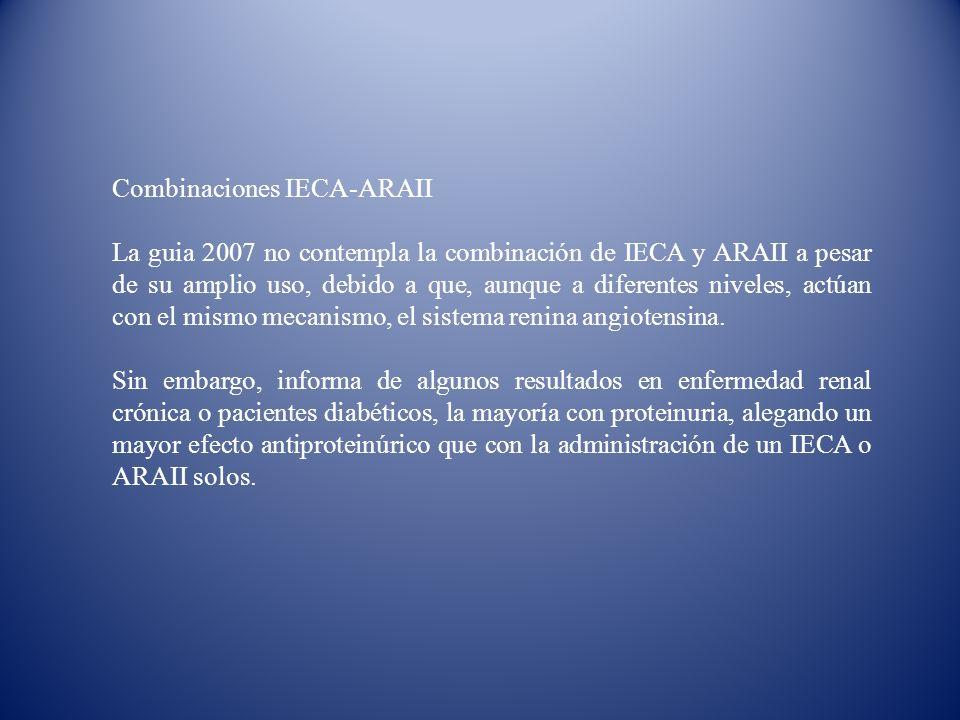 Combinaciones IECA-ARAII