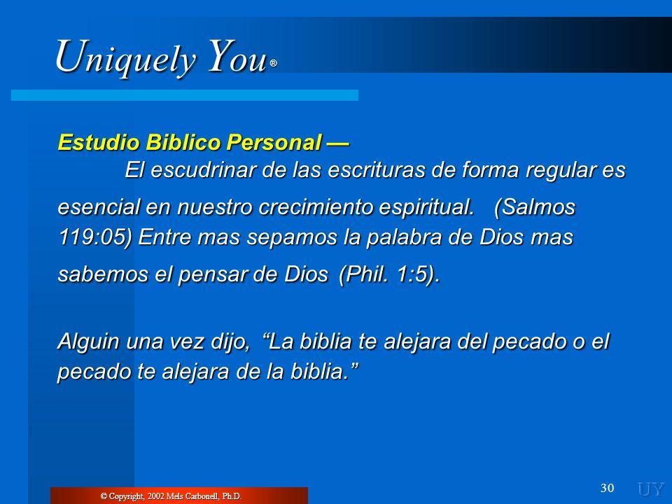 Estudio Biblico Personal —