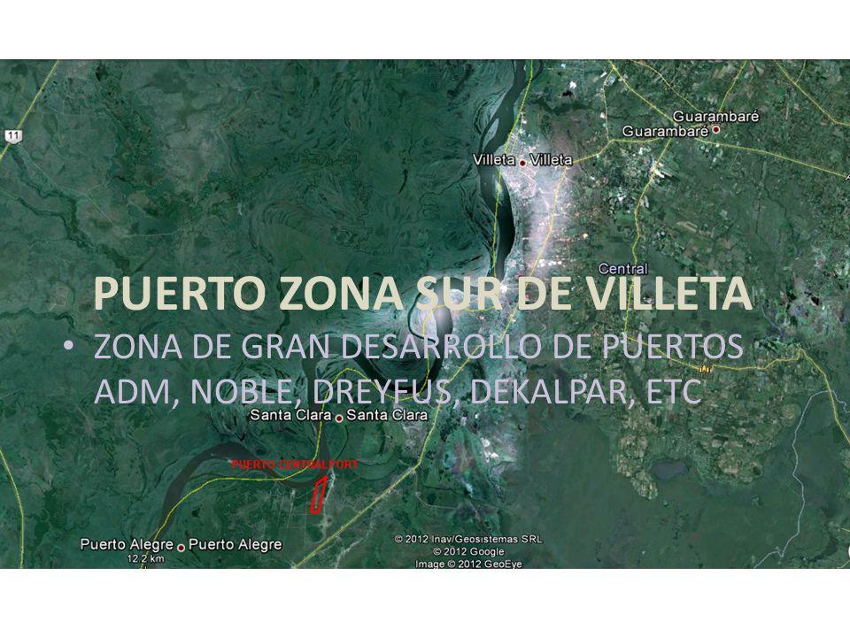 PUERTO ZONA SUR DE VILLETA