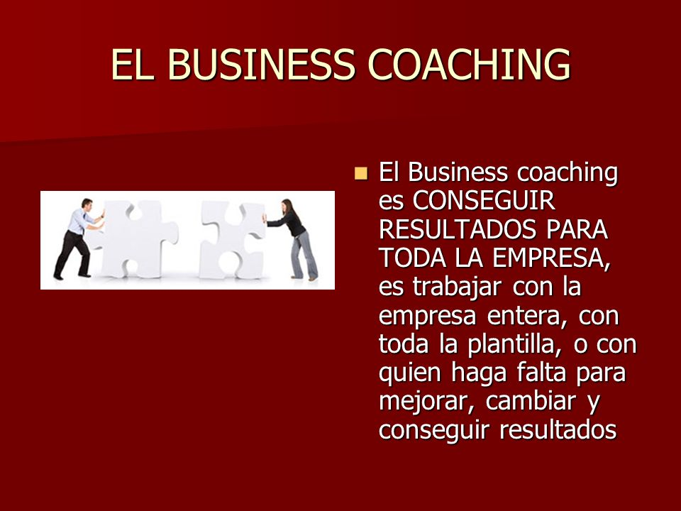 EL BUSINESS COACHING