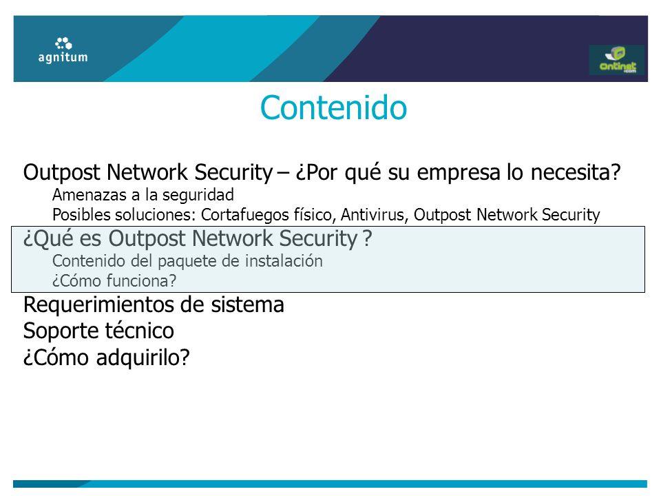 Contenido Outpost Network Security – ¿Por qué su empresa lo necesita