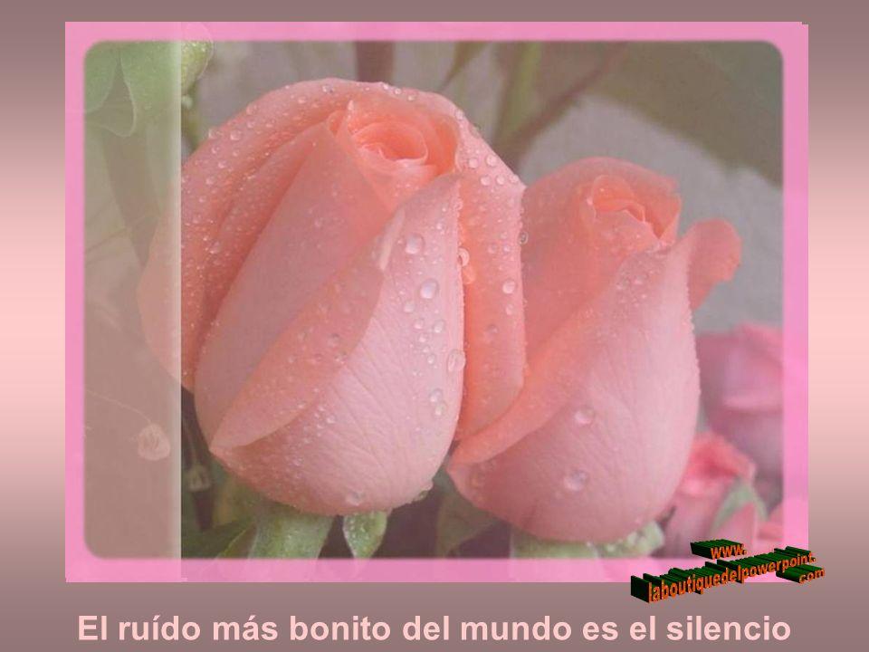 El ruído más bonito del mundo es el silencio