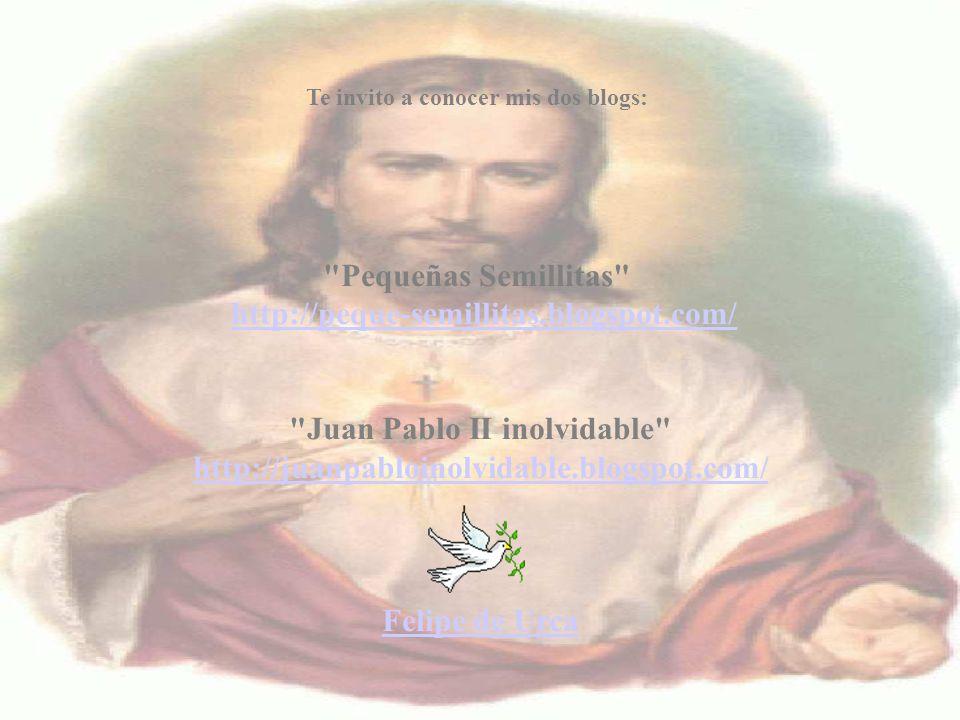 Juan Pablo II inolvidable http://juanpabloinolvidable.blogspot.com/