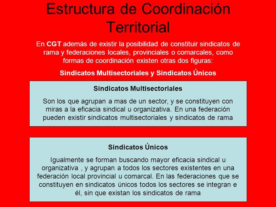 Estructura de Coordinación Territorial