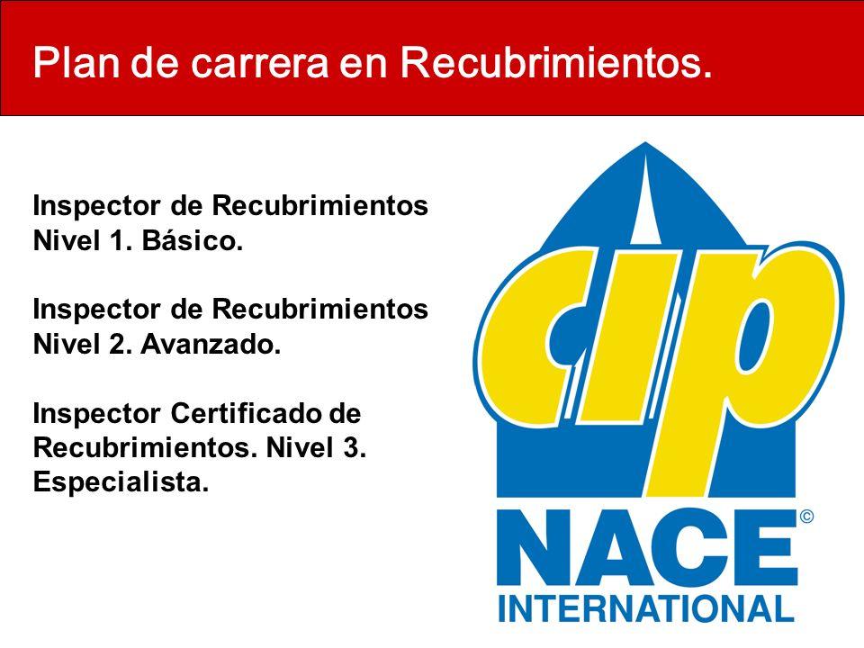 Plan de carrera en Recubrimientos.