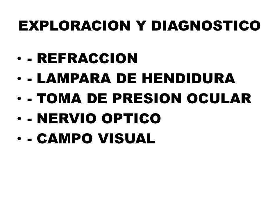 EXPLORACION Y DIAGNOSTICO