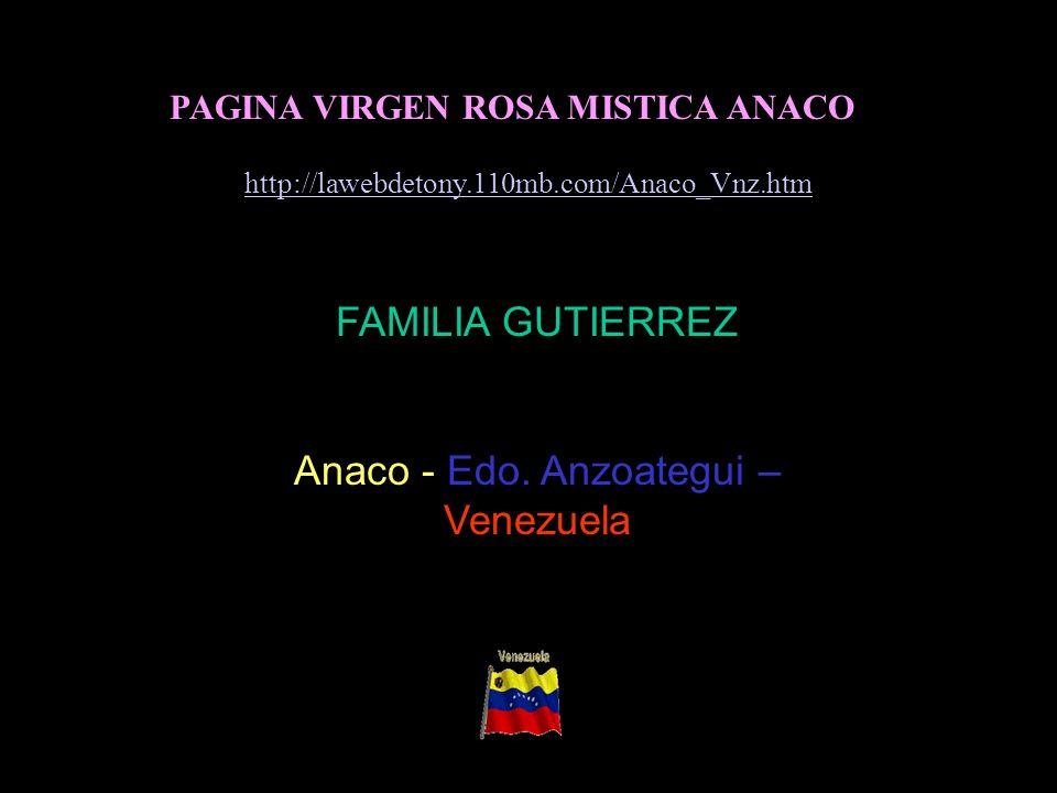 Anaco - Edo. Anzoategui – Venezuela