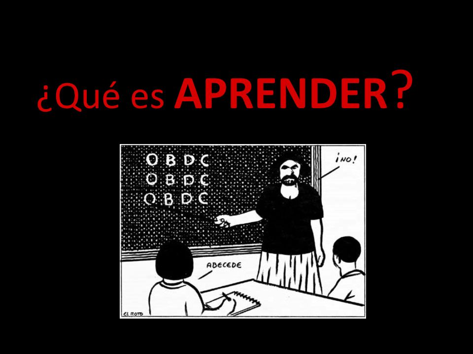 ¿Qué es APRENDER engage them, confuse them, excite them and please do not bore them