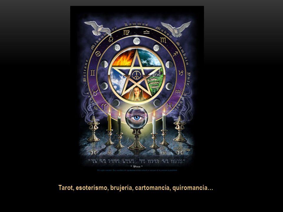 Tarot, esoterismo, brujería, cartomancia, quiromancia…