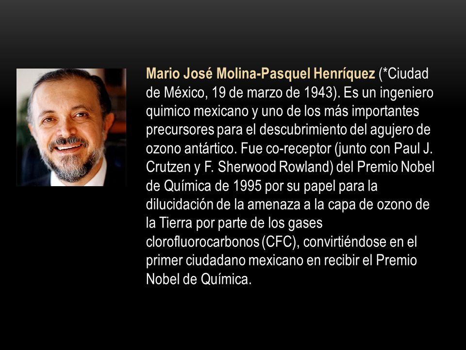 Mario José Molina-Pasquel Henríquez (