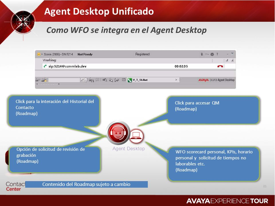 Agent Desktop Unificado